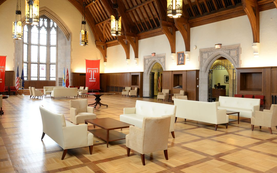 Temple University – Feinstone Lounge at Sullivan Hall